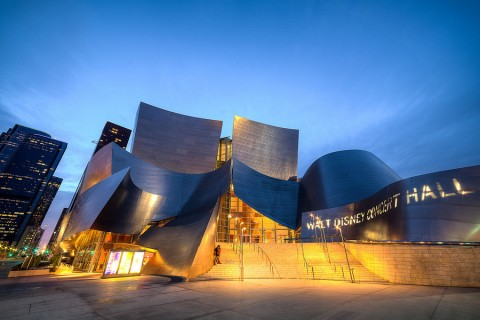 OCYSO's debut at the Walt Disney Concert Hall