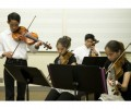 Quadruplet musicians audition for the OCYSO