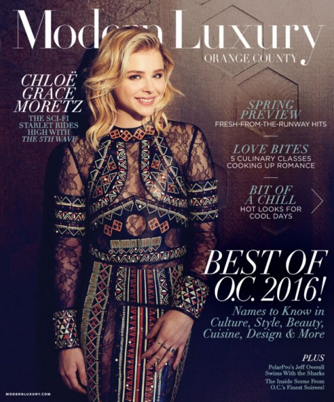 OCYSO is featured in Modern Luxury Magazine, Orange County