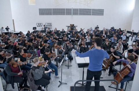 O.C. Youth Symphony teams with Debut Orchestra at Disney Hall