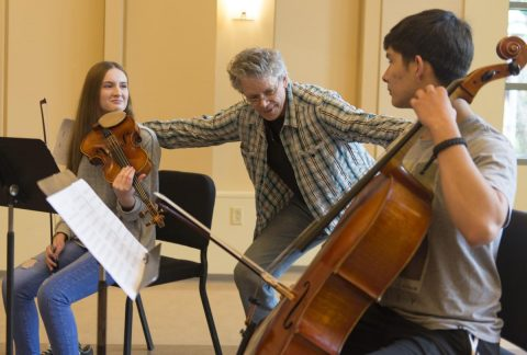 Young musicians take a page from Kronos Quartet