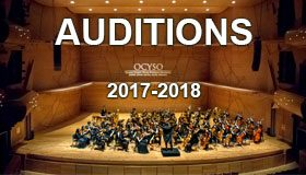 Auditions 2017-2018
